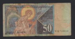 Banconota Macedonia 50 Dinari 2003 Circolata - Macedonia