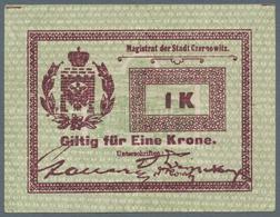 """Ukraina / Ukraine: Notgeld """"Magistrat Der Stadt Czernowitz"""" (City Of Czernowitz) 1 Krone ND(1914), P - Ukraine"""