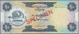 United Arab Emirates / Vereinigte Arabische Emirate: United Arab Emirates Currency Board 10 Dirhams - United Arab Emirates