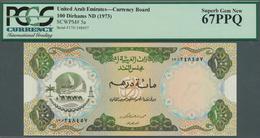United Arab Emirates / Vereinigte Arabische Emirate: United Arab Emirates Currency Board 100 Dirhams - United Arab Emirates