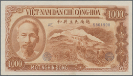 Vietnam: 1000 Dong1951 And 5000 Dong 1953, P.65, 66, Both In About F+ To VF Condition. (2 Pcs.) - Vietnam