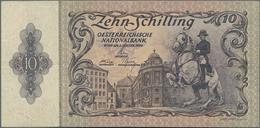 Austria / Österreich: Lot With 27 Banknotes Comprising For Example 100.000 Kronen 1922 P.81 In F, 10 - Austria