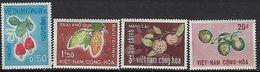 """Viet-Sud YT 304 à 307 """" Fruits """" 1967 Neuf** MNH - Viêt-Nam"""
