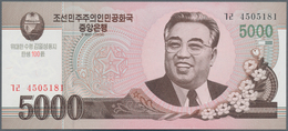 North Korea / Banknoten: Huge Set With 67 Banknotes With Different Series From 1947 - 2012 Comprisin - Banknotes