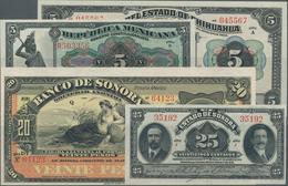 Mexico: Small Lot Mexico With A Few Regional Issues, Namely Estado De Sonora 25 Centavos, Republica - Mexico