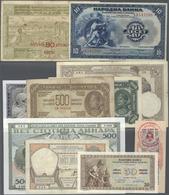 Yugoslavia / Jugoslavien: Large Lot Of About 950 Pcs From Different Times Of Yugusalvian Banknote Hi - Yugoslavia