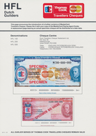 Alle Welt: Thomas Cook Travellers Cheques, Set With 15 Specimen With 4 Pcs. Of 500 French Francs, 4 - Banknotes