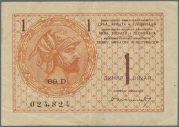 Alle Welt: Collectors Album With About 120 Banknotes, Most Of Them From The Former Yugoslavian Count - Banknotes