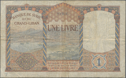 Middle East / Naher Osten: Nice Lot With 12 Banknotes From Libya, Kuwait, Lebanon And Syria Comprisi - Banknotes