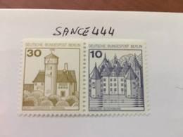 Berlin Castle Strip 30+10 Top Imperf Mnh 1977 - [5] Berlin
