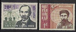 """Viet-Sud YT 308 & 309 """" Patriotes """" 1967 Neuf** MNH - Viêt-Nam"""