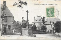 SAINT GERMAIN BEAUPRE: PLACE DE L'EGLISE - Autres Communes