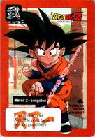 Carte Dragon Ball Z Carddass-Bandai 1995 Héros 2 Songoten Tournoi Tournament En TB.Etat - Dragonball Z