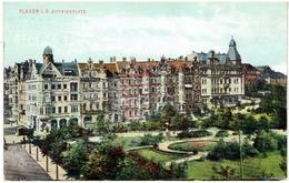 PLAUEN - Vogtlandkreis - Sachsen - Dittrichplatz - Gesendet 1914 - Plauen