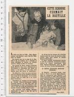 Presse 1959 Serrure De La Prison-forteresse Royale De La Bastille Famille Bonnor-Christophe Serrurerie Ancienne CHV9 - Unclassified