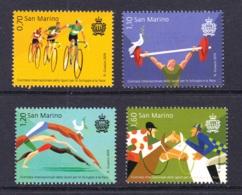 5.- SAN MARINO 2019 SPORT FOR PEACE - CYCLING SWIMING - San Marino