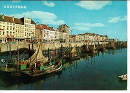 OOSTENDE-OSTENDE-PORT DE PECHEURS-BATEAUX DE PECHE - - Oostende