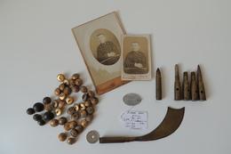 Petit Lot De POILU, De La Première Guerre Mondiale - 1914-18
