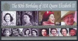 Antarctique Britannique 2006 Mi. Bl. 13 Bloc Feuillet 100% Neuf ** La Reine Elizabeth II - Neufs