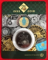 "Kazakhstan 100 Tenge 2018 ""25 Years Of Tenge"" CoinCard UNC - Kazakhstan"