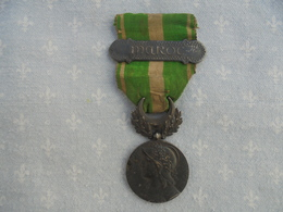 Medaille A Barette Maroc - Uniformes