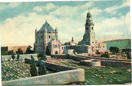 "PALESTINE CARTE POSTALE JERUSALEM EGLISE DE..... AVEC CACHET ""PALESTINE CENSORSHIP N°2"" DEPART ARMY POST...5 JU 18 SZ44 - Palestine"