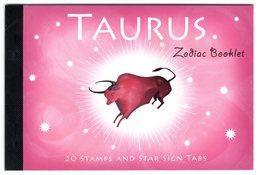 Australia 2005 Prestige Booklet Zodiac Taurus Sterrenbeeld Stier - Astrology