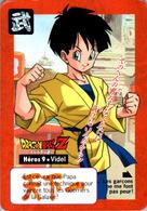 Carte Dragon Ball Z Carddass-Bandai 1995 Héros 9 - Videl Tournoi Tournament En B.Etat - Dragonball Z