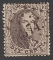 14 - Dent. 14 ½ - Obl. 374 (VERVIERS) - 1863-1864 Medaillen (13/16)