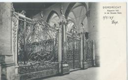 Dordrecht - Koperen Hek In De Groote Kerk - V.D.W.D. No 51 Foto H. V.d. Berg - 1907 - Dordrecht