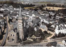 35 - TINTENIAC : Le Centre - Vu Aérienne - Jolie CPSM Dentelée Colorisée Grand Format 1976 - Ille Et Vilaine - Autres Communes