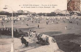 Royan (17) - Vue Prise De La Potinière Sur La Grande Conche Et Le Casino Municipal - Royan