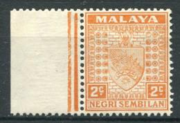 Negri Sembilan 1935 Mi. 22 Neuf * 100% 2 C, Armoiries - Negri Sembilan