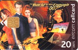IRELAND - James Bond, Chip ODS 3, 12/99, Used - Ireland