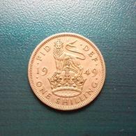 1 Schilling Münze Aus Großbritannien Von 1949 (sehr Schön Bis Vorzüglich) - 1902-1971: Postviktorianische Münzen
