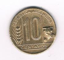 10 CENTAVOS  1946 ARGENTINIE /4043/ - Argentine