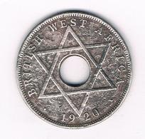 HALF PENNY 1920 BRITISH WEST AFRICA /4044/ - Coins