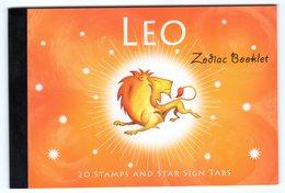 Australia 2005 Prestige Booklet Zodiac Leo Sterrenbeeld Leeuw Lion - Astrology