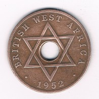 ONE  PENNY 1952 BRITISH WEST AFRICA /4046/ - Monnaies
