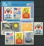 Uruguay 1975 Neuf ** 100% Buonarroti, Expositions Philatéliques, Jeux Olympiques - Uruguay