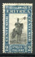 L'Érythrée 1930 Sass. 155 Sans Gomme 80% 2c.  -Colonie Italienne - Erythrée