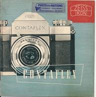 Livret Publicitaire Appareil Photo Contaflex Zeiss Ikon 1954 - Pubblicitari