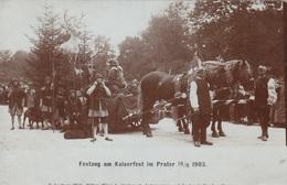 FESTZUG Am Kaiserfest Im Prater Am 18.8.1903 - Royal Families