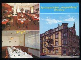 CPM Allemagne OFFENBURG Speisegaststätte Augustaburg Multi Vues - Offenburg