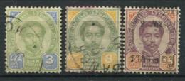Thaïlande 1887-1894 Mi. 9,11 Oblitéré 100% Roi Chulalongkorn - Thaïlande