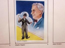 VINTAGE ALBUM BISCOTTES BOUGARD TOURS-effigie Château AMBOISE-1 Seul Chromo Image CHARLIE CHAPLIN -CHARLOT- A COMPLÉTER - Music & Instruments