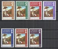 CAYMAN ISLANDS 1970 - EASTER - CPL.SET - MNH MINT NEUF NUEVO - Cayman Islands