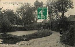 Sainte Croix Sur Aizier * La Mare Asse - Francia