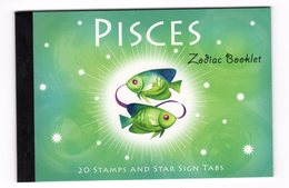 Australia 2005 Prestige Booklet Zodiac Pisces Sterrenbeeld Vissen Fish - Astrology