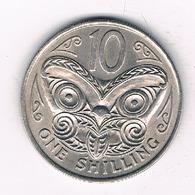 1 SHILLING 1967 NIEUW ZEELAND /4056/ - Nouvelle-Zélande